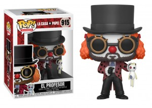 Funko POP Dom z Papieru Profesor Clown
